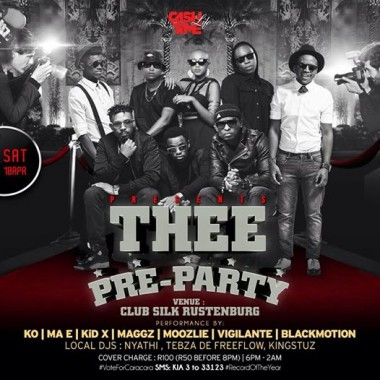 KO | MA E | KiD X | MAGGZ | VIGILANTE | BLACKMOTION – LOCAL DJS: NYATHI, TEBZA DE FREEFLOW, KINGSTUZ