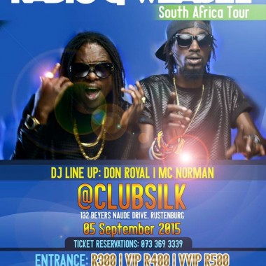 GUDLYF CREW-Radio And Weasel Live SA Tour