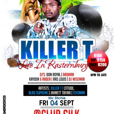 KILLER T LIVE IN RUSTERNBURG